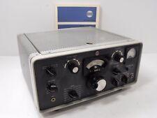 Collins KWM-2 80-10 M SSB / CW Transceiver Round Emblem +Orig Manual, Tubesters