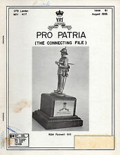 ROYAL CANADIAN REGIMENT: PRO PATRIA: August 1986 Regimental Journal Issue 61