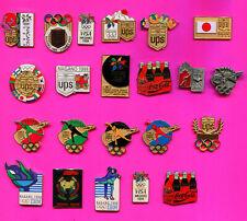 1998 OLYMPIC PIN NAGANO PINS - BADGE PICK A PIN 1-2-3- BUY THEM ALL 20 PINS