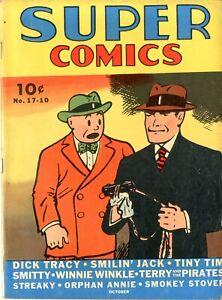 Super Comics   #17    FINE    October 1939