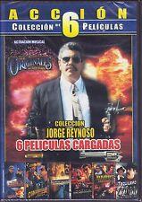 COLECCION DE 6 PELICULAS DE JORGE REINOSO