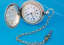 """Antike Taschenuhr """" BILLODES """" 800 Osmanisches Reich pocket watch 52 mm um 1850"""