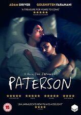 PATERSON di Jim Jarmusch DVD in Inglese NEW .cp