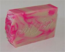 Raspberry Peppermint Goat Milk Soap by MJR Soaps