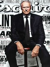 CLINT EASTWOOD  Esquire Magazine October 2012