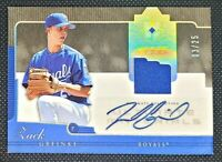 2005 Upper Deck Ultimate Collections Jersey Zack Greinke Auto /25 Game Used UGZG
