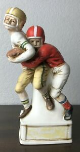 Vintage Lionstone Whiskey Decanter Football Limited Edition 1974 Empty