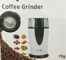 New Mini White Electric Whole Coffee Power Plus Grinder  Nut,Beans,Spice grinder