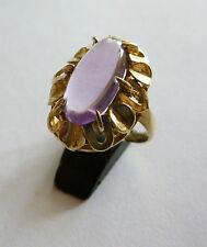 Amethyst - Ring 333 Gold   70 iger Jahren Vintage    Nr.  5934