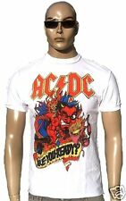 Amplified AC/DC ACDC HEAVY METAL ARE Usted Ready Rock Star Camiseta Vintage