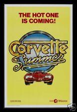 CORVETTE SUMMER *1SH ADV MOVIE POSTER NM-M MARK HAMILL