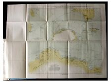 1932 ANTARCTIC EXPEDITION - British - AUSTRALIAN - New Zealand - MAP - Mawson -8