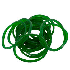Bag of 1/4 Lb Premium #12 GREEN Rubber Bands for Tattoo Machines Pound