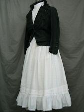 Victorian Dress Edwardian Costume Civil War Style Old West Prairie Western