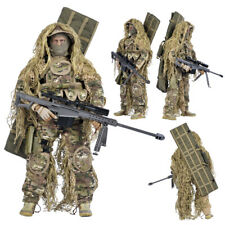 "1/6 Sniper Soldier Barrett Sniper Rifle Model 12"" Action Figure Doll Toys"