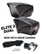 Drivesmart Elite 2 Dual-Detector de Radar Láser Cámara De Velocidad Gps Y Dvr Cámara en Tablero