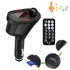 Top MP3 Player Wireless FM Transmitter Modulator Car Kit & USB SD MMC LCD Remote