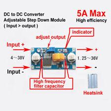 5A DC-DC Buck Step-down 4-38V to 3.3V 6V 9V 12V 24V  Converter Voltage Regulator