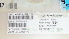 NEW 10PCS AGILENT MGA-81563-TR1 IC SMT RF Amplifier MMIC AMP, 0.1-6GHZ 3V 14dBm,
