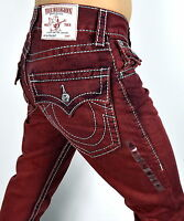 True Religion $222 Men's Hand Picked Colored Straight Big T Jeans - MNRS859EIC