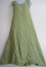 Sleeveless Scoop Neck Striped Dresses Plus Size for Women