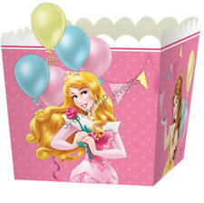 8X DISNEY PRINCESS TREAT BOXES PARTY FAVOUR LOLLY LOOT BAG GIRLS BIRTHDAY GIFT
