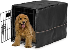 30-Inch Cover FOR Dog Crate Pet Cat Cage Kennel Privacy Black