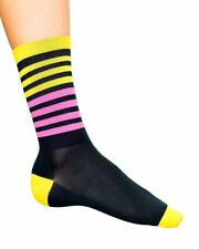 "Cosmic Socks - Bumble Gum 6"" Cycling Socks"