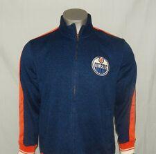 Edmonton Oilers CCM Full Zip Micro fleece Jacket New