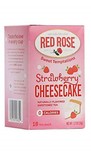 Red Rose Tea Strawberry Shortcake, 18 ct
