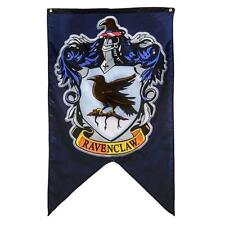 "Harry Potter Saga Licensed XL 50"" HOGWARTS House RAVENCLAW CREST Flag BANNER"