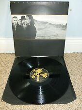 U2 THE JOSHUA TREE LP ISLAND RECORDS U26 1987 + POSTER + INNER MINT