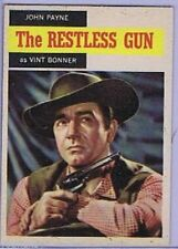 Topps 1958 Western TV Card #52, The Restless Gun, NRMT-
