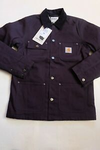 Man Jacket Carhartt Michigan Coat (Dark Navy Rigid) SIZE S