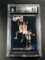 SHAQUILLE O'NEAL SHAQ 1992 UPPER DECK #1 SP ROOKIE RC NM-MINT+ BGS 8.5 NBA (C)