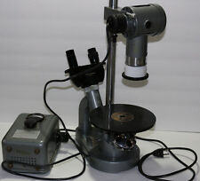 Vintage Ernst Leitz Wetzlar (Quarry) microscope w/transformer **FABULOUS**