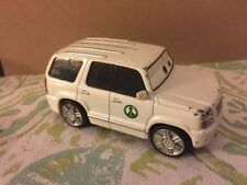 Disney Pixar Piston Peak National Park White SUV Die Cast