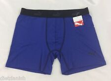 Puma MEN'S Athletic Underwear shorts Boxer Brief Blue Size XL