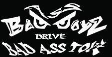 "Bad Ass Boys Evil Eyes Vehicle Window Wall Boat Vinyl Decal Sticker 36"" x 12"""