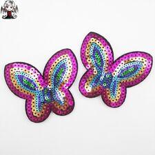 Parche lentejuelas mariposa