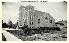 1920s Printed Postcard; Lutheran Church, Turlock CA Stanislaus County Unposted