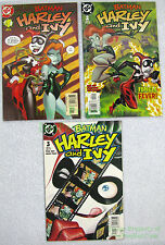Batman Harley and Ivy #1 2 3 Complete Limited Mini Series! Quinn Poison Big Pics
