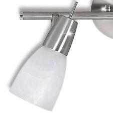 Glas Lampen Schirm Ersatz Alabaster weiß ø 7 cm Lampe Julia Leuchte gl-09230