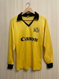BSC Young Boys Size 5-6 Rekord shirt jersey trikot football soccer L/S Canon 80s