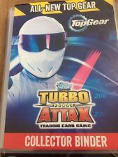 Top Gear Turbo Attax 2016 COMPLETO 240 carte con goldlimited EDIZIONE Stig