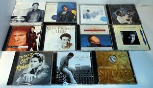 11 x CLIFF RICHARD CD ALBUMS JOB LOT BUNDLE STRONGER PRIVATE COLLECTION HIT LIST