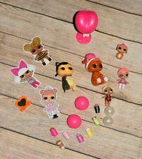 Lol Surprise Doll Figurine Container Accessories Lot Set Bottles 22 Pcs Euc