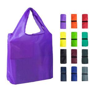 Shopping Storage Bag Houseware Waterproof Portable Solid Color Eco Tote Bag