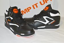 f86d88af90ea Reebok Pump Omni Lite SNEAKERS Dee Brown Black White Varsity Orange J15295 8