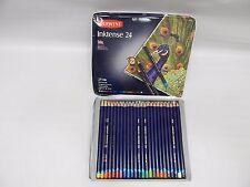 Derwent Colored Pencils, Drawing, Watercolor, Art, Inktense Ink Pencils, 24-Pack